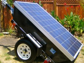 Coyle Industries Portable Solar Power System