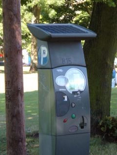 Ticket Parking Meter