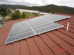 4kw system tile roof