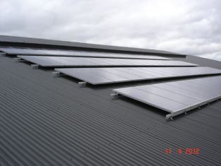 12 kw system tin roof