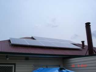 2kw system tin roof